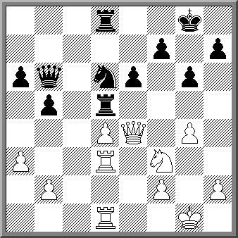 Вышивка шахматная партия